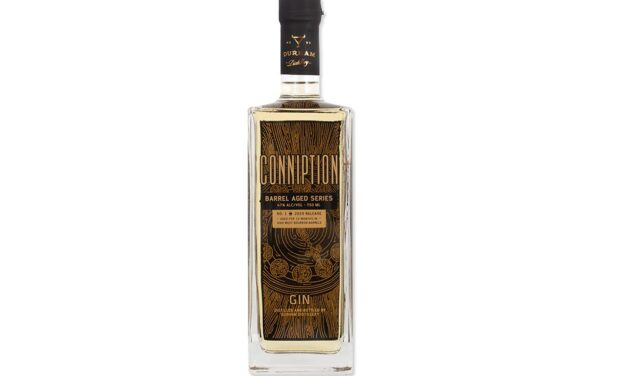 Durham Distillery estrena la ginebra Conniption Barrel Aged Series No 1