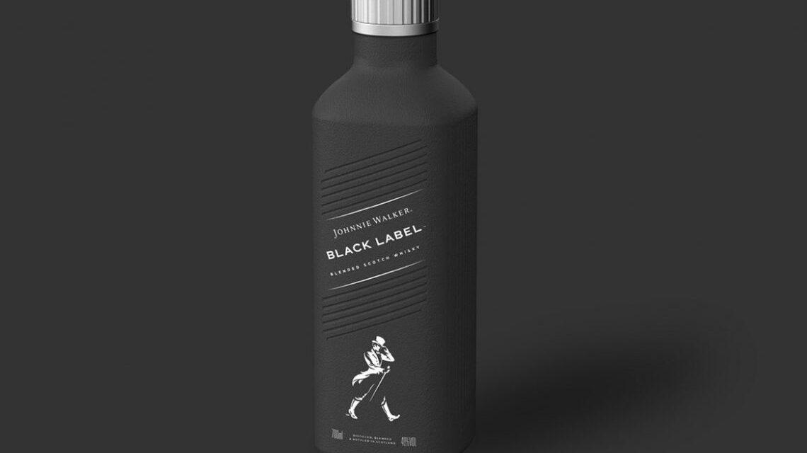 Diageo ha revelado la fabricación de la primera botella de licor 100 % libre de plástico del mundo