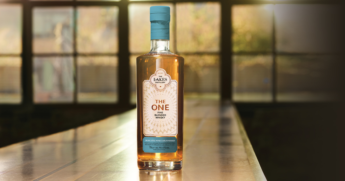 Lakes Distillery revela The One Moscatel
