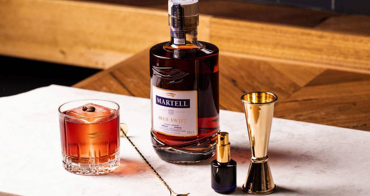 Martell quiere desbancar al Old Fashioned y al Negroni con su nuevo cóctel, The Swift