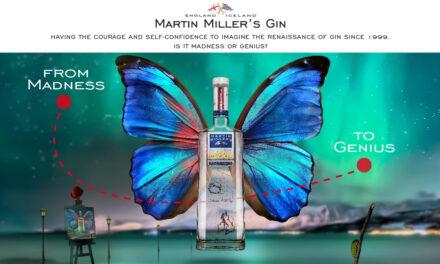 Martin Miller's Gin anuncia un nuevo posicionamiento de marca global respaldado por el arte y la creatividad