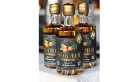 Marble Distilling estrena Paonia Peach Brandy