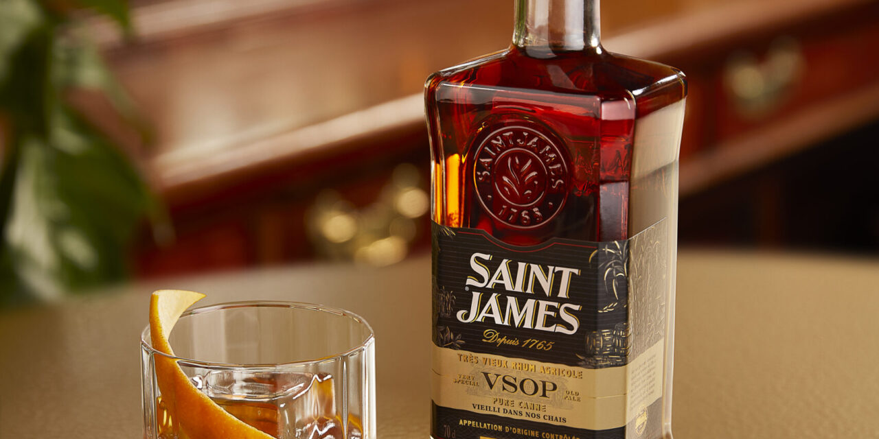 Saint James presenta el ron agricole VSOP