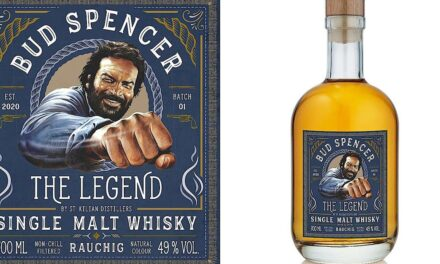 St Kilian estrena Bud Spencer – The Legend – Smoky Whisky