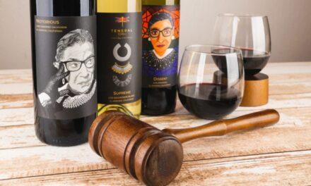 Teneral Cellars lanza la colección de vinos Ruth Bader Ginsburg