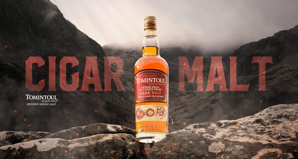 Tomintoul presenta Cigar Malt Whisky