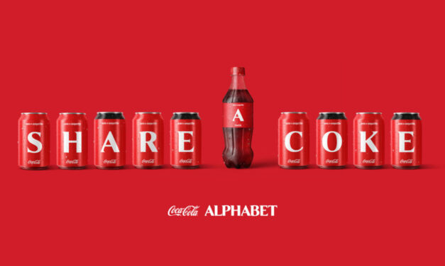 Coca-Cola vuelve a sorprender lanzando una colección de latas y botellas con las letras del abecedario