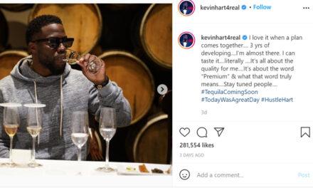 El actor Kevin Hart anuncia Tequila México