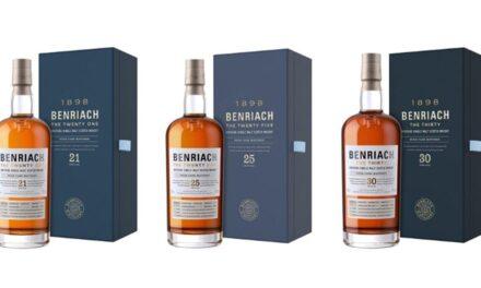 Benriach lanza raros whiskies de 21, 25 y 30 años