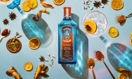Bombay Sapphire crea una ginebra inspirada en la puesta de sol, Bombay Sapphire Sunset