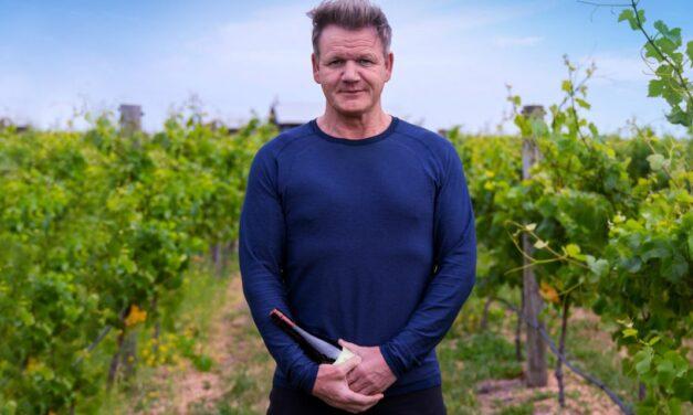 Gordon Ramsay revela su propia marca de vinos de California, Gordon Ramsay Signature Wines