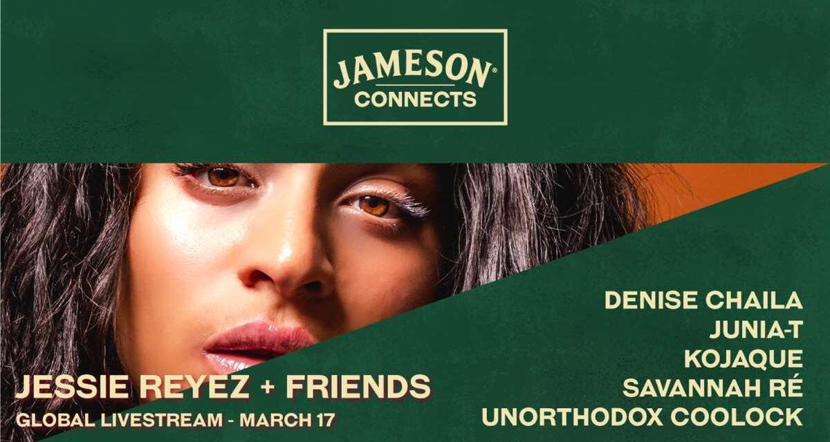 Jameson revela un mes de eventos virtuales para celebrar el Día de San Patricio 2021
