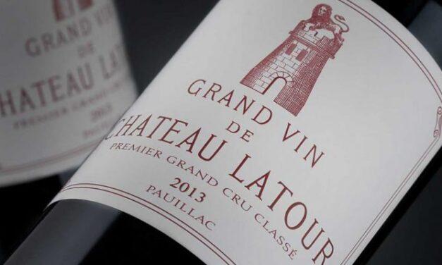 La cosecha 2013 de Latour se lanza a 355 euros, superando el precio de 2012