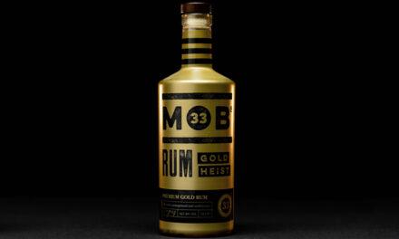 La época de la prohibición inspira el ron Mob 33 Gold Heist