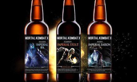 Mortal Kombat X tiene su propia línea de cerveza