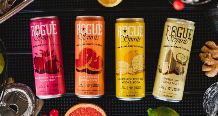 Rogue añade Lemonade Iced Tea Vodka Soda y Bayfront Vodka Party Pack a su gama de cócteles en lata