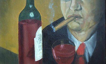 """""""El banquero, fumando"""" (2006), de Reginald Gray"""