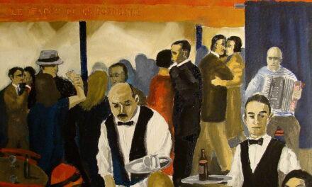 """""""14th July Paris"""" (2009), de Reginald Gray"""