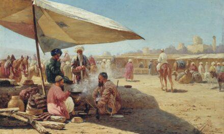 """Mercado oriental"" (1901), de Richard Zommer"