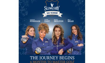 Slingsby se asocia con Fleur East, Helen Skelton, Natalie Pinkham y Bela Shah para lanzar Celebrity Golf Academy