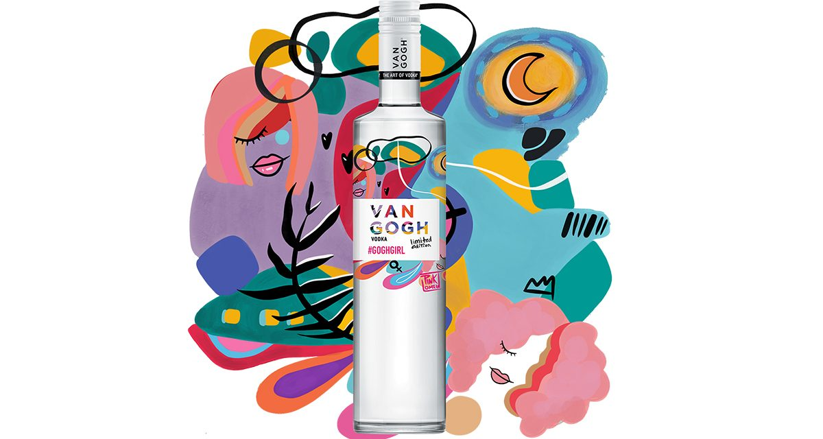 Van Gogh Vodka lanza su segunda edición especial para el Día Internacional de la Mujer