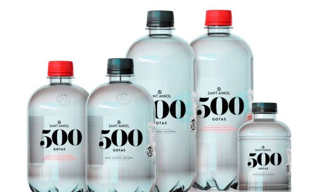 Sant Aniol complementa su gama de plástico 100% reciclado '500 Gotas'