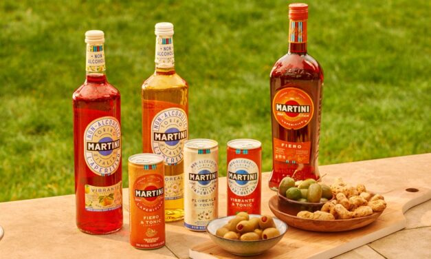 Martini lanza una gama de refrescos RTD en toda Europa