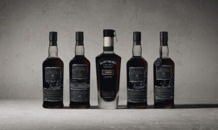 5 botellas ultra raras de whisky negro de malta Bowmore de 1964 se venden por 563.000 dólares