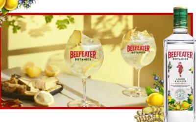 Beefeater lanza una bebida espirituosa de menor graduación, Beefeater Botanics Lemon and Ginger