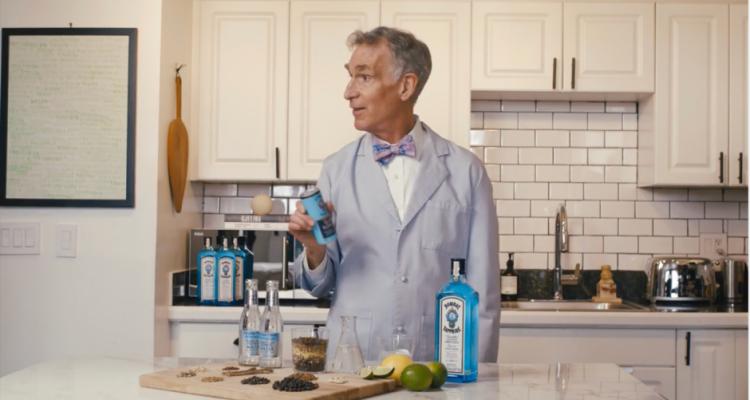 Bill Nye trae la ciencia a Bombay Sapphire y explica por qué el Gin Tonic sabe tan bien