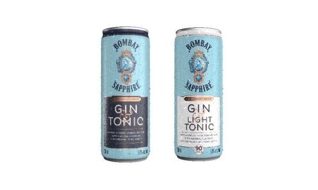 Bombay Sapphire lanza un Gin & Tonic listo para beber RTD