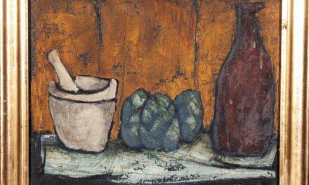 """""""Bodegón con mortero"""" (1958), de Martín Zerolo"""
