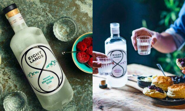 Eight Lands presenta la ginebra y el vodka Speyside de la destilería Glenrinnes