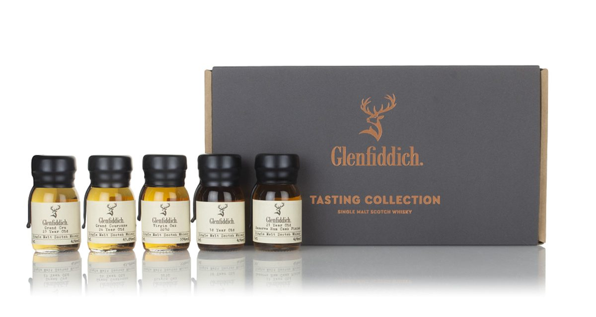 Glenfiddich lanza The Glenfiddich and Master of Malt Tasting Collection