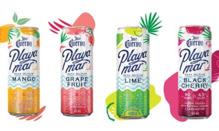 Jose Cuervo presenta los nuevos sabores de Playamar, mango y cereza negra