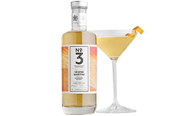 La ginebra No.3 crea lanza Vesper Martini embotellado