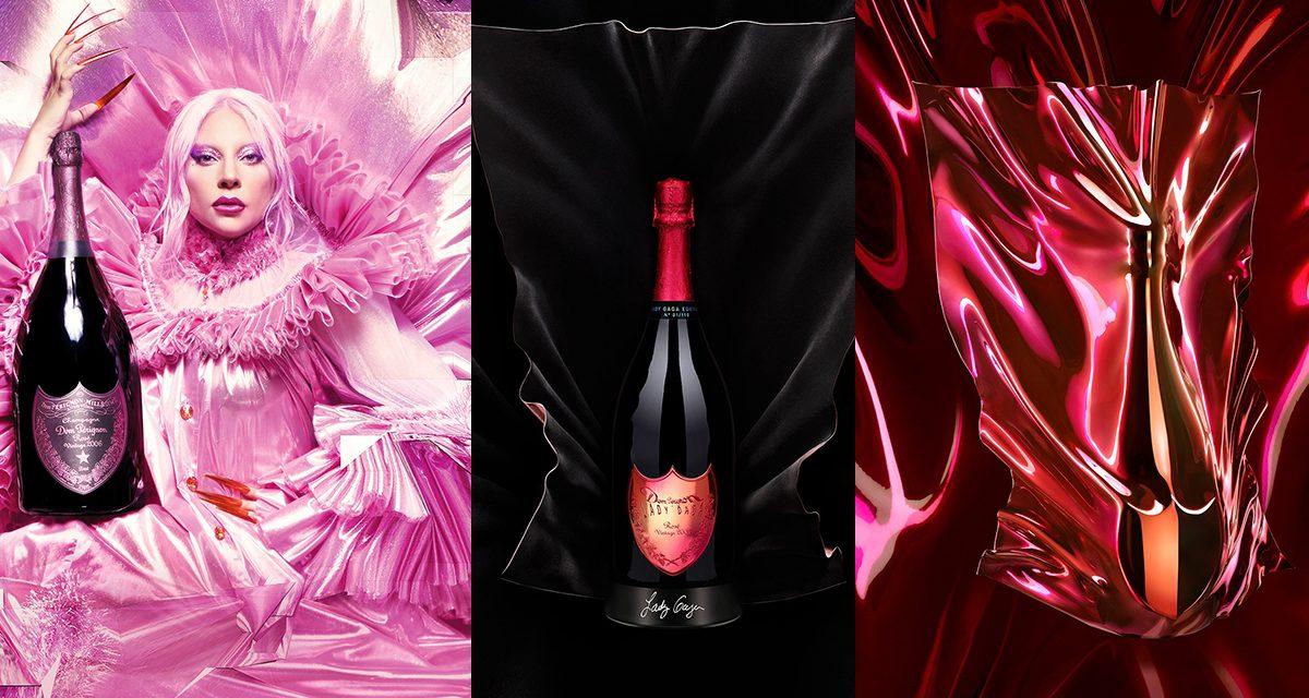 Lady Gaga lanza una edición limitada de jeroboam de Dom Pérignon rosado 2005