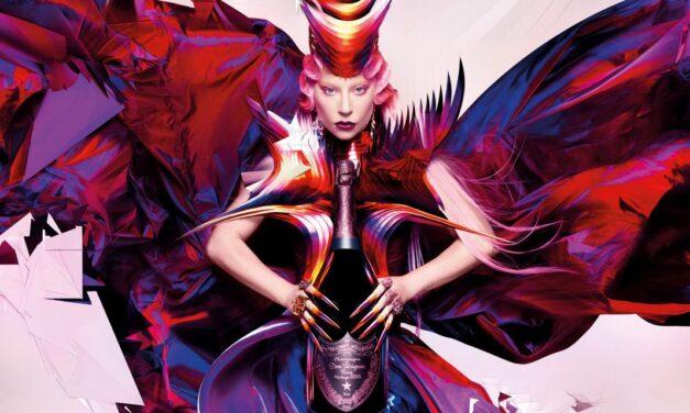 Lady Gaga se une a Dom Pérignon para una nueva campaña y botellas de edición limitada
