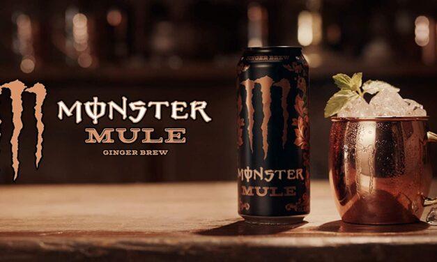 Monster Energy se adentra en el 'far west' con el lanzamiento de su nueva variedad Mule y su sabor a jengibre