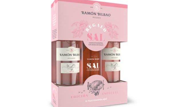 Ramón Bilbao crea Sal Rosé, una sal líquida con aroma de rosado que presenta en un pack especial