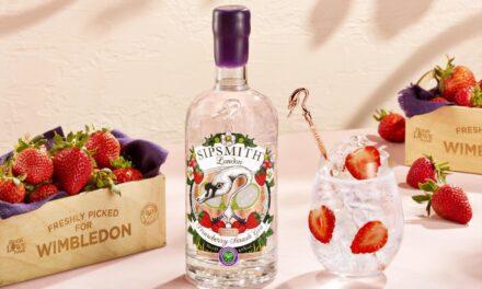 Sipsmith crea una ginebra con fresas de Wimbledon, Sipsmith Strawberry Smash Gin