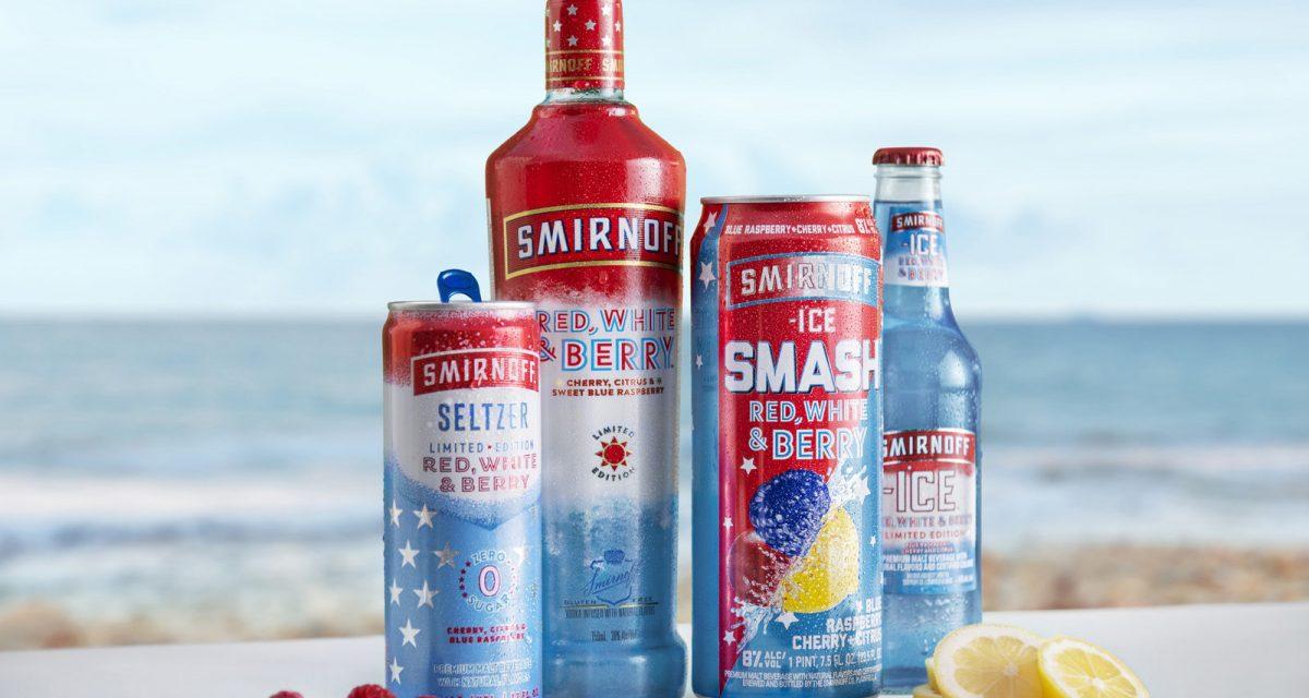 """Smirnoff Red, White & Berry lanza la promoción """"Summer of 2,021 Dreams"""" y Ice SMASH RTD"""