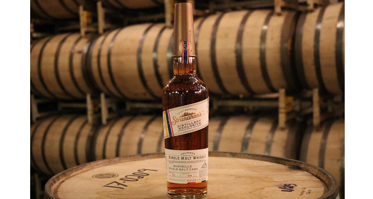 Stranahan's presenta el whisky de barril Bushmills, el primero de Distiller's Experimental Series