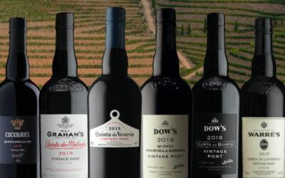 Symington embotella seis oportos vintage de 2019, entre ellos Dow's, Graham's, Cockburn's y Warre's