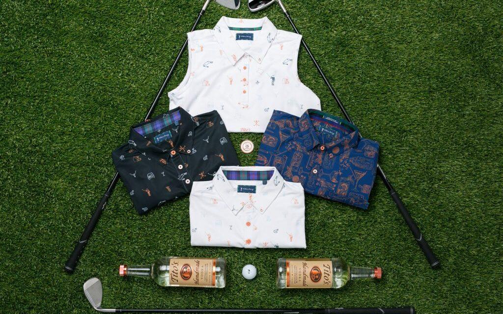 Tito's y William Murray Golf se asocian en una línea de ropa, Tito's X William Murray Golf