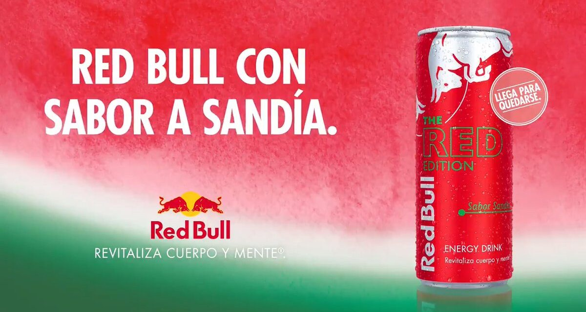 Red Bull apuesta por la sandía presentando un nuevo sabor de cara a la temporada veraniega