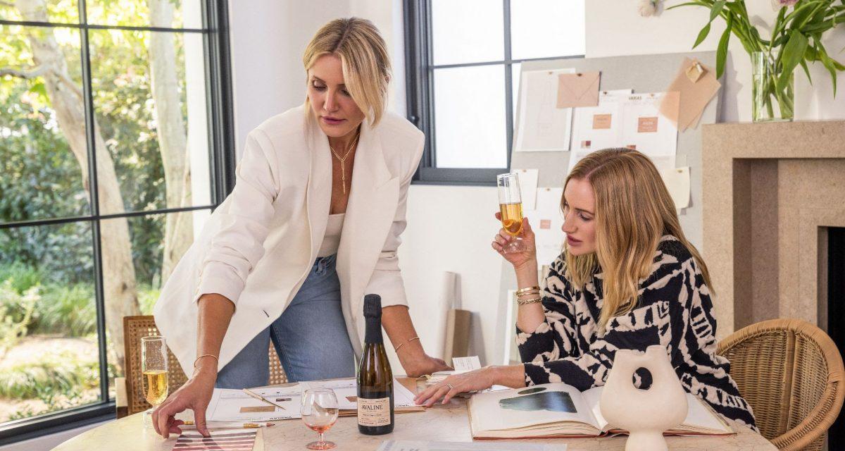 Avaline Sparkling Rosé es el último vino de Cameron Diaz y Katherine Power