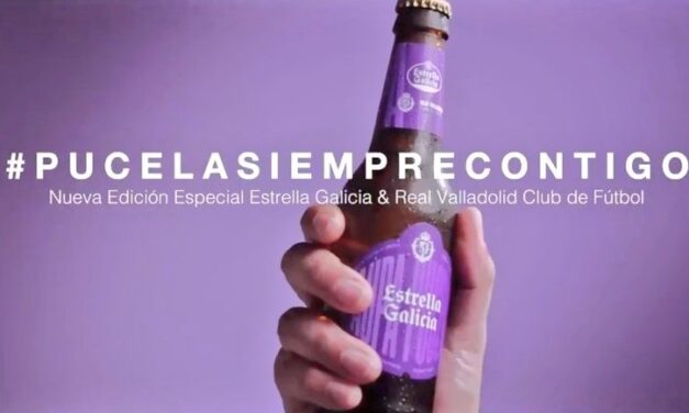 Estrella Galicia quiere arropar al Valladolid FC con una nueva edición especial en homenaje al club y a sus aficionados