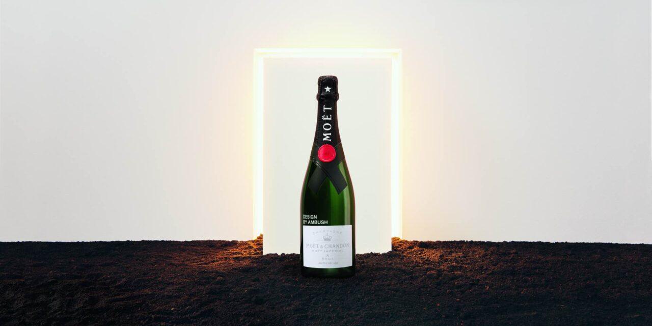Moët & Chandon x AMBUSH: edición única entre el champán y el diseño