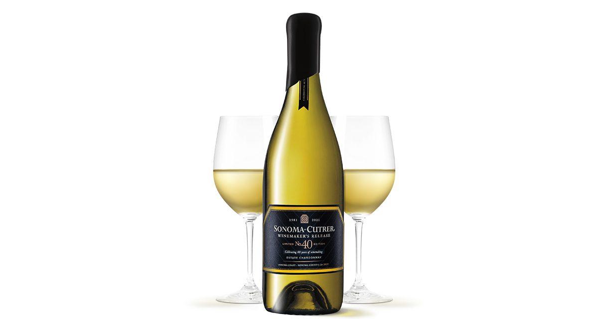 Sonoma-Cutrer estrena lanzamiento enológico: Chardonnay 40th Anniversary